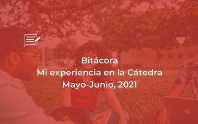 Bitácora: Cátedra Mayo-Junio, 21