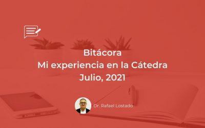 Bitácora: Cátedra Julio, 31