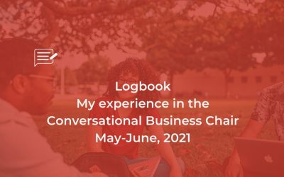 Logbook: Conversational Business Chair May-June, 21