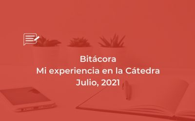 Bitácora: Cátedra Julio, 21
